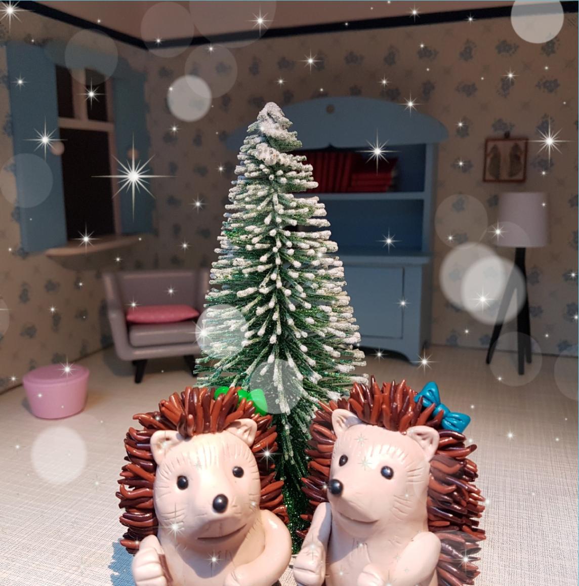 Kerst met de egeltjes